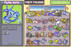 Pokemon Ruby Destiny Reign of Legends - Blue! - User Screenshot